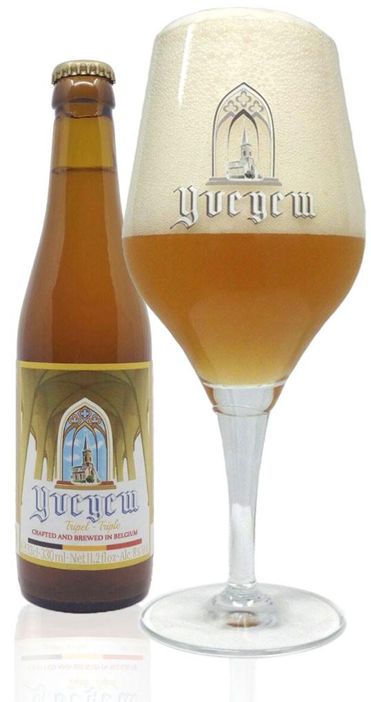 belgabrew yvegem tripel bier Belgian craft beer