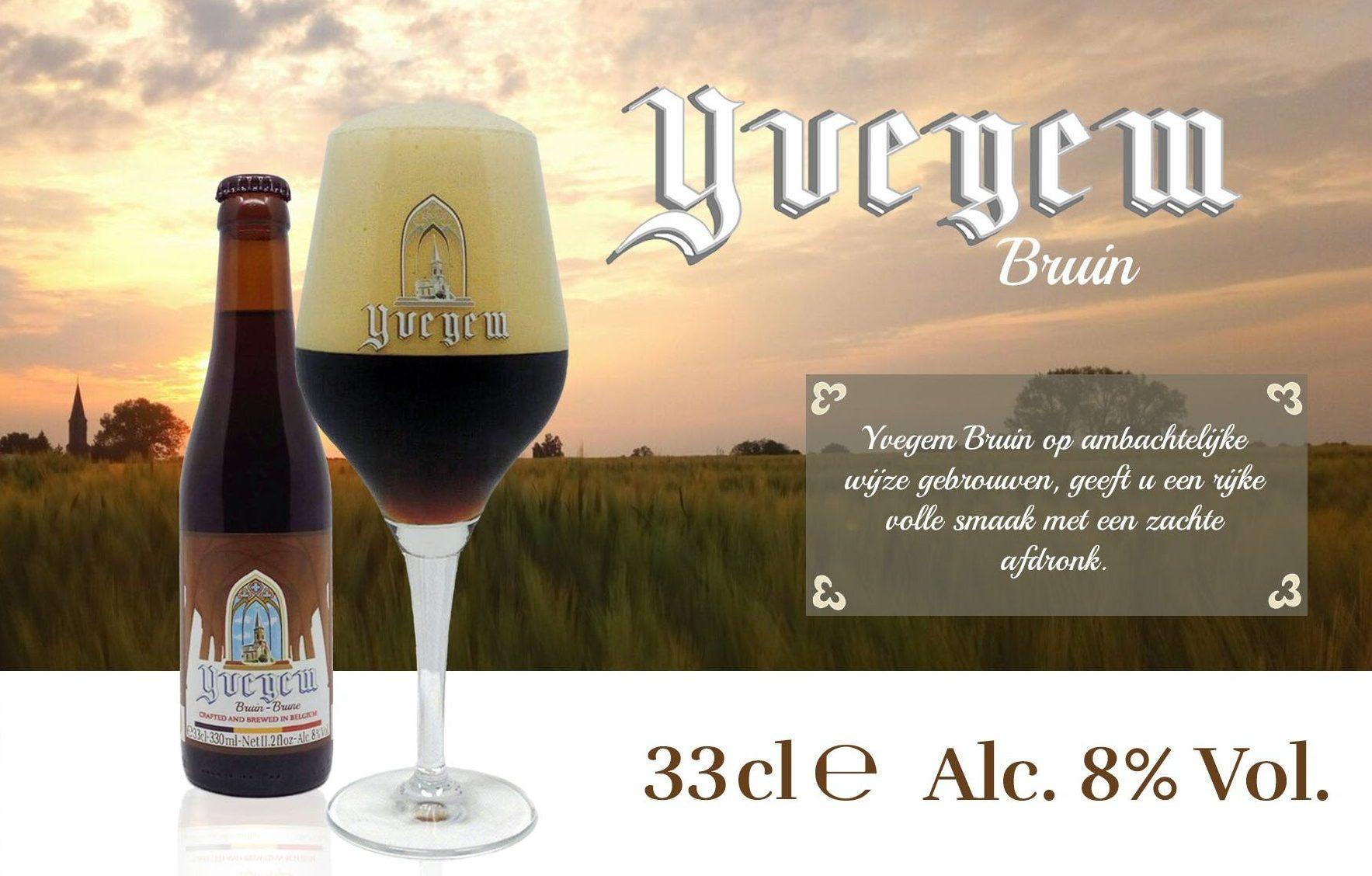belgabrew yvegem bruin Belgian craft beer