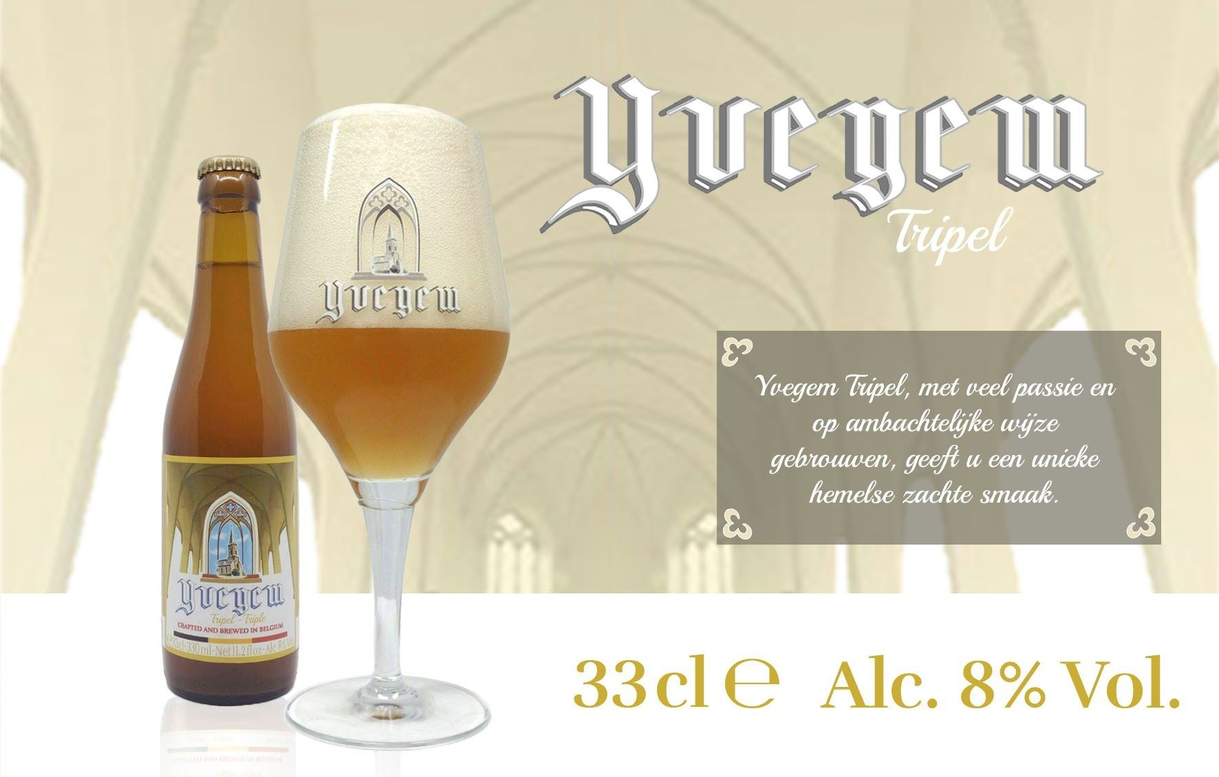 belgabrew yvegem tripel Belgian craft beer